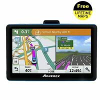 Car GPS Navigator 5-inch LCD screen FM satellite voice navigation truck GPS