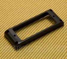 PC-018BK (1) Black Flat Bottom Mini Humbucker Plastic Ring