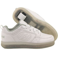 Heelys Kids' Premium Lo Wheeled Heel Shoe White Size 2 M US Little Kid