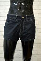 Costume EMPORIO ARMANI Uomo Taglia 44 Mare Piscina Pantaloncino Shorts Rete Blu
