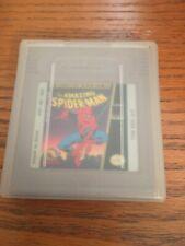 Amazing Spider-Man Nintendo Game Boy Peter Parker Marvel Side Scroll W Case Smi