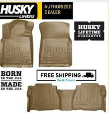 Husky Liners Front Floor Liners Fits 12-18 Tundra CrewMax//Double//Standard Cab 18561
