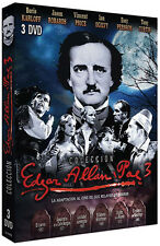 Edgar Allan Poe Collection 3 (6 Films) NEW PAL Classic 3-DVD Set Vincent Price