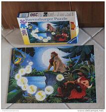 @ Rare:  Puzzle RAVENSBURGER 200 pièces 1994 – LE ROI LION AU CLAIR DE LUNE –