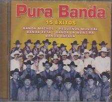 Banda Machos,Pequenos Musical,Banda zeta,Banda La mentira,Banda Rafaga CD New