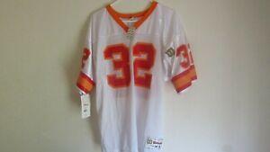 NFL Tampa Bay Bucs Buccaneers Errict Rhett#32 White Football Jersey Youth XL NOS