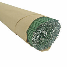 Green Lacquered Florist Stub Craft Wire Various Gauges and Lengths 250 Gram 300mm (12 Inch) 1.20mm (18 Gauge)