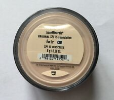 Bare Minerals Original Foundation SPF 15 - FAIR C10 - 8g - Free UK Post