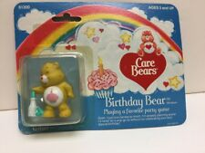 """1984 Care Bears """"Birthday Bear"""" Playing A Favorite Party Game In Box By Kenner"""