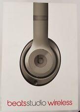 AUTHENTIC! Beats Studio Wireless 2.0 Over the Ear Headphones - Titanium MHAK2AMA