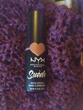 Nyx Suede Matte Lipstick Free Spirit genuine brown
