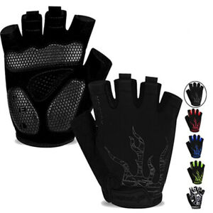 Summer MTB Motorcycle Mountain Bike Half Finger Cycling Gloves Half Gloves