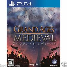 Grand Ages: Medieval UBISOFT SONY PS4 PLAYSTATION JAPANESE NEW JAPANZON