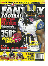 2016 DRAFT ENGINE FANTASY  FOOTBALL MAGAZINE  DRAFT DAY CHEAT SHEET  ISSUE, 2016