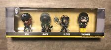 Ubisoft Rainbow Six Siege Collectible Vinyl 4 Figures: Ash Jager Sledge Thermite