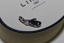 Genuine sterling silver links of london noël mitten charme rrp £ 45 cadeau amour