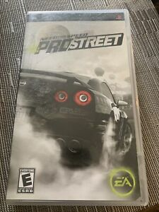 Sony PSP Need for Speed ProStreet Complete Black Label