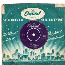 "Gene Vincent - Say Mama 7"" Single 1959"