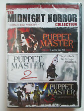 Midnight Horror Collection: Puppet Master (DVD, 2010) Brand New (Region 1 NTSC)