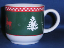 C I Moore Northwoods Cup(s) Reindeer Snowflakes Hearts Trees
