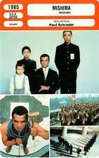 FICHE CINEMA : MISHIMA - Ogata,Shionoya,Schrader 1985