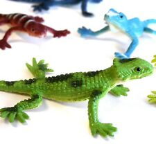 Pack of 32 Small Plastic Lizard Toys - Party Bag & Pinata Fillers Toys Favours