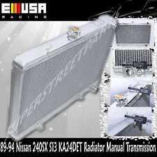 "EMUSA Aluminum 2"" 2 Row Performance RADIATOR fit 89-94 Nissan 240SX S13 KA24DET"