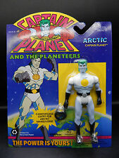 1994 vintage ARCTIC CAPTAIN PLANET action figure Planeteer Tiger Toys MOC ring !