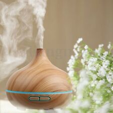 LED Ultrasonique Diffuseur Huiles Essentielles Humidificateur d'Air Purificateur