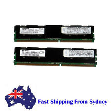 IBM 4GB (2 X 2G) 2RX4 PC2-5300F DDR2-667  Fully Buffered ECC Memory RAM 39M5790