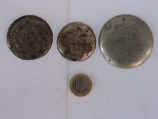 Set of 3 Different Covers(Omega, Waltham)For Pocket Watch Case-1900-1910