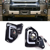 For Toyota Hiace 2014-2016 DRL LED Daytime Running Light Fog Turn Signal Lamp
