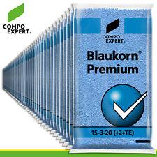 Compo Expert 2 x 25 kg Grains Bleu Premium 15-3-20 3 10) Engrais Universel