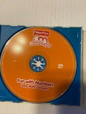Fisher Price Fun with numbers early math concepts cd rom Free Shipping!