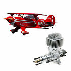 """Hangar 9 Pitts S-2B 50-60cc 71.6"""" with DLE 61cc Gas Engine"""