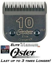 Oster A5/A6 ELITE TITANIUM #10 BLADE*Fit Most Andis,Wahl Clippers PET GROOMING