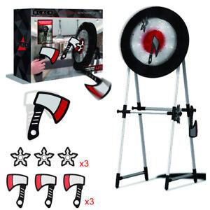 Foam Axe Throwing Game Safe Indoor & Outdoor Axe Toss Game Set w/ 4FT Target New