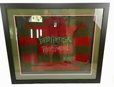 Robert Englund Signed Freddy Krueger Sweater Framed Inscribed JSA Coa