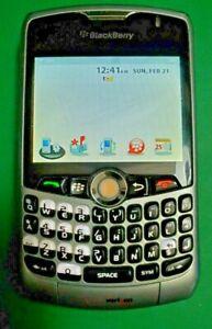 BlackBerry Curve 8330 - Silver (Verizon) Smartphone Works!