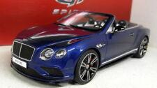 Modellini statici di auto, furgoni e camion blu per Bentley Scala 1:18
