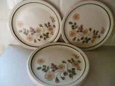 Original 1980's St Michael Marks & Spencer Autumn Leaves 16.5cm Side Plates