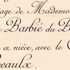 Marie Madeleine Barbie Du Bocage Quenet Conches 1885 De Préaulx