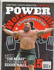 POWER Weightlifting Powerlifting strongman muscle magazine/Eddie Hall 12-16