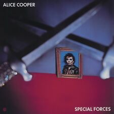 Alice Cooper SPECIAL FORCES 6th Album LIMITED EDITION New Blue Colored Vinyl LP