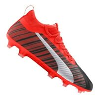 Chaussures de football Puma One 5.2 Fg / Ag M 105618-01 rouge multicolore