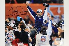 Tony Dungy Indianapolis Colts Super Bowl XLI Autograph 8x10 Signed Photo Steiner
