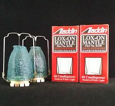 LOT of 2 ALADDIN LAMP LOX-ON MANTLES PART # R150 FRESH STOCK SOLD AS A PAIR