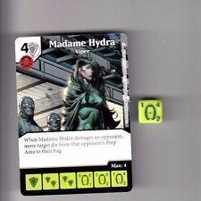 DICE MASTERS DEADPOOL COMMON #24 MADAME HYDRA VIPER CARD & DICE