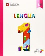 (14).LENGUA PAUTA 1º.PRIM.(AULA ACTIVA)/TRIMESTRAL. ENVÍO URGENTE (ESPAÑA)