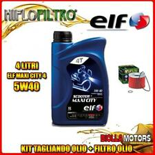 KIT TAGLIANDO 4LT OLIO ELF MAXI CITY 5W40 TRIUMPH 900 Thunderbolt 900CC 1996- +
